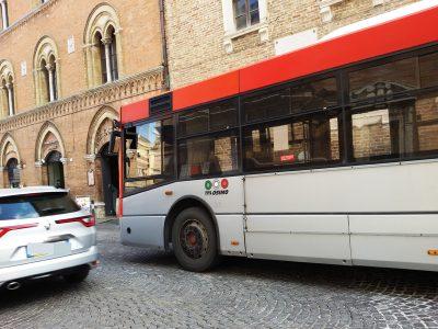 bus navetta della Tpl Osimo