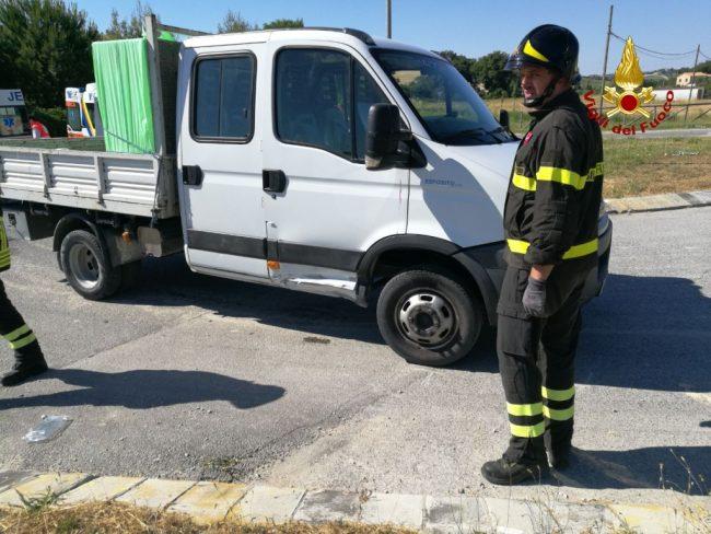 incidente mortale agugliano La Chiusa