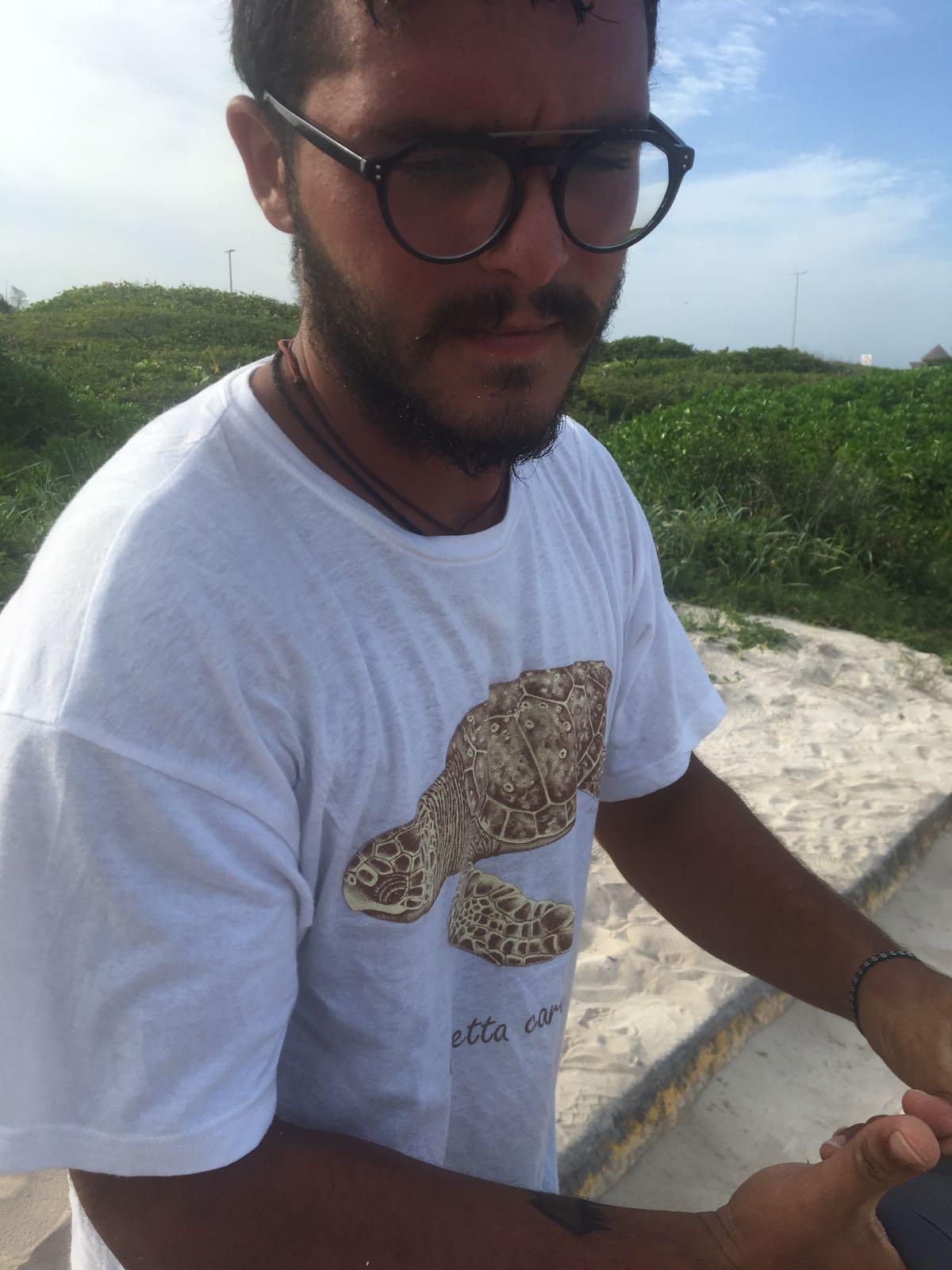 Vacanze e volontariato per liberare in mare le tartarughe for Tartarughe appena nate