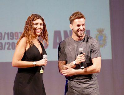 Lara Gentilucci e Andreas Muller