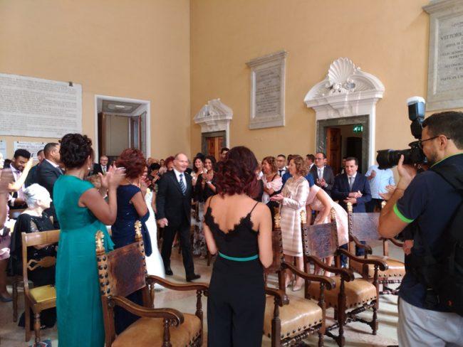 sposi Miriam Simonetti Marco Albenesi