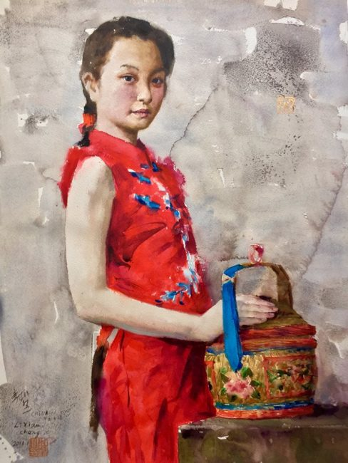 acquerello di Xiaocheng Li
