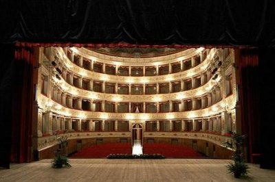 il teatro Gentile di Fabriano
