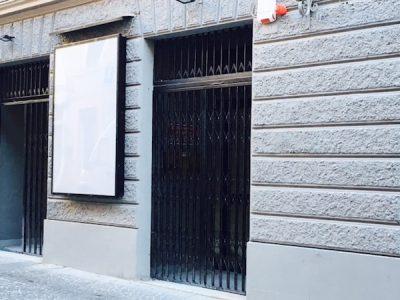 l'ingresso dell'ex cinema Giano