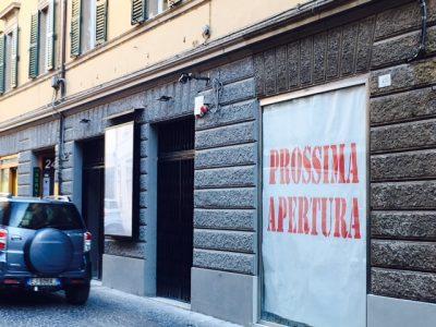I locali della pasticceria MImosa di prossima apertura in via Cialdini