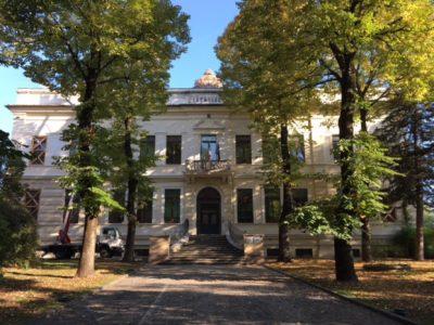 la facciata della Melchiorri