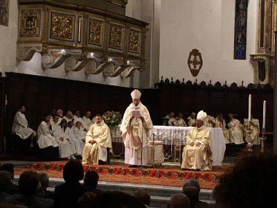 l'omelia del Vescovo mons. Russo