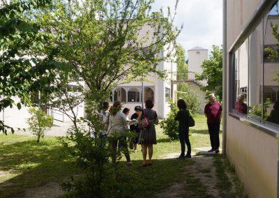 il cortile della scuola primaria Allegretto di Nunzio