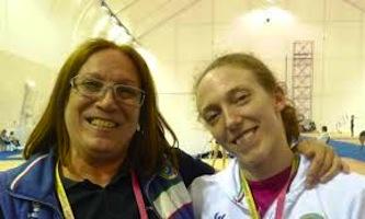 Kristina Ghiurova e Julieta Cantaluppi, allenatrici della Ginnastica Fabriano