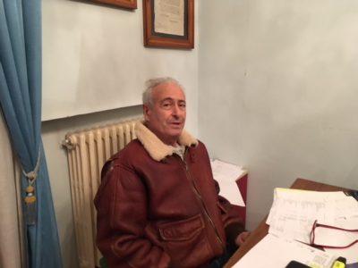 Il vice sindaco di Cerreto d'Esi Giovanni Montanari