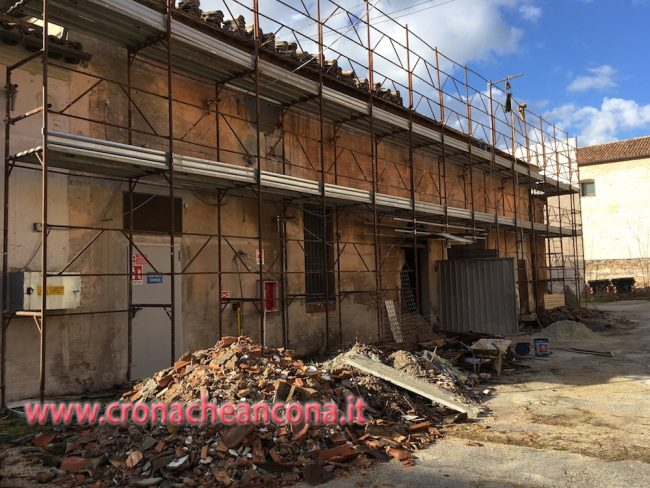 ll cantiere del Museo Guelfoll cantiere del Museo Guelfo