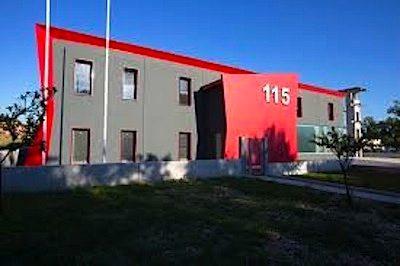 la stazione dei Vigili del fuoco di Gubbio (Pg)