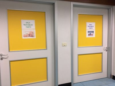 Le sale parto dell'ospedale E. Profili