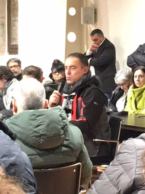 l'ex consigliere M5S Sergio Romagnili