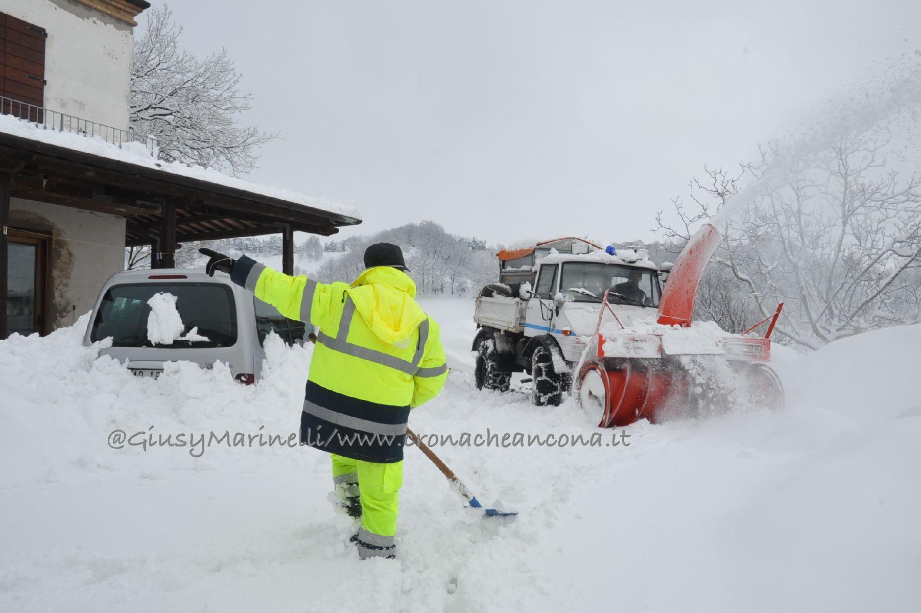 Ufficio Lavoro Senigallia : Neve in arrivo senigallia cerca spalatori per pulire strade e