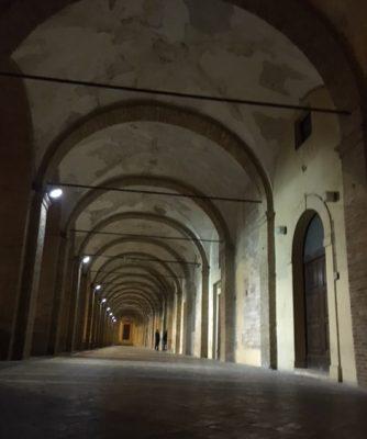 L'ingresso della Biblioteca comunale R. Sassi di FabrianoL'ingresso della Biblioteca comunale R. Sassi di Fabriano