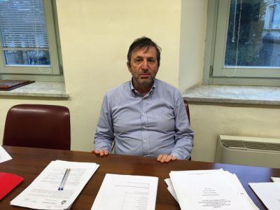L'allessore al Bilancio Francesco Bolzonetti