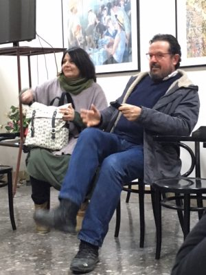 Laura Trappetti e Leonardo Animali dell'associazione Il bagatto Precorsi CreativiLaura Trappetti e Leonardo Animali dell'associazione Il bagatto Precorsi Creativi