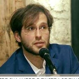 Andrea Giombi, promotore del Festival della Carta di Fabriano