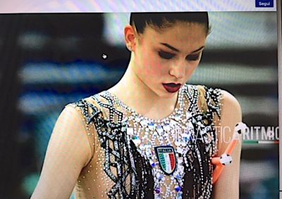 Milena Baldassarri è nona a ai Mondiali di Pesaro, foot instagram