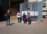 La manifestazione in difesa di Pediatria a Fabriano