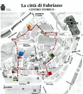 Mappa dello Convivio Errante