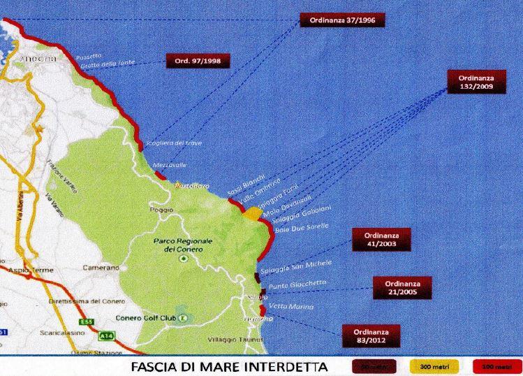 Cartina Conero Marche.Frana Alla Spiaggia Del Frate La Guardia Costiera Il Rispetto Delle Regole Fa La Differenza Cronache Ancona