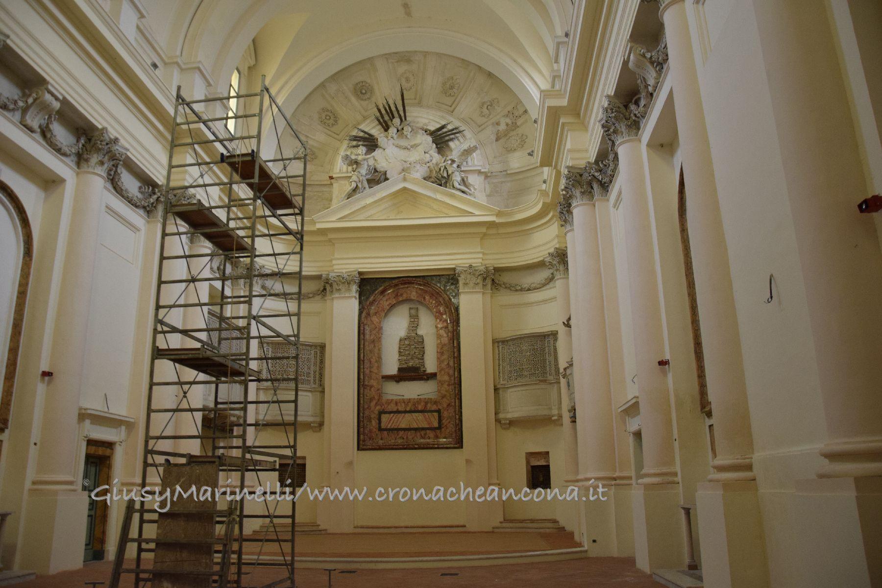 Al Giardino Ancona riapre il 14 dicembre la chiesa di san gregorio ma senza il