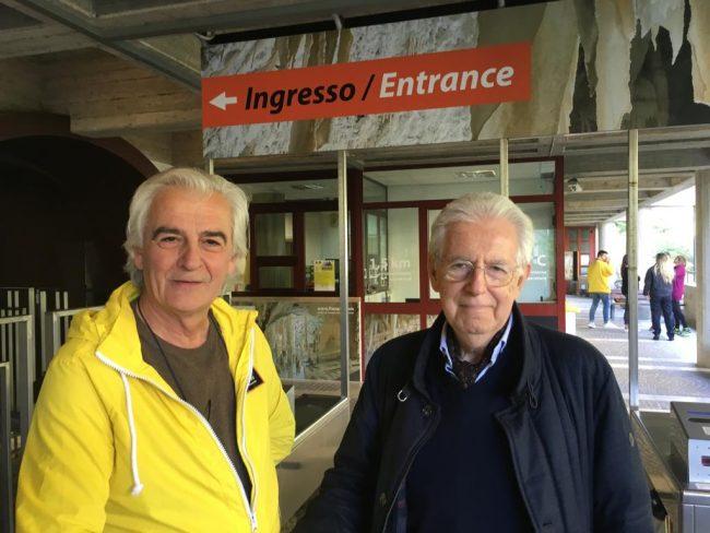 Mario-Monti-e-Geniale-Mariani-presidente-Consorzio-Frasassi