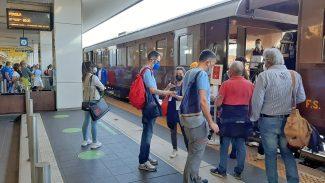 treno storico fabriano pergola viaggio inaugurale